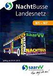saarVV Faltblatt Nachtbusse