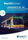 saarVV Faltblatt Nachtbusse Landesnetz Saarland