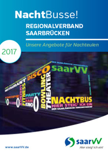 saarVV Faltblatt Nachtbusse Regionalverband Saarbrücken