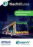 saarVV Faltblatt Nachtbusse Regionalverband