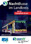saarVV Faltblatt Nachtbusse Saarpfalz-Kreis
