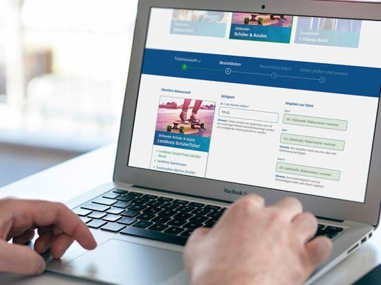 SaarVV Online Abo Shop